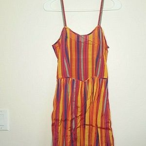 Vintage Adini Womens Dress Size 5/6 Striped